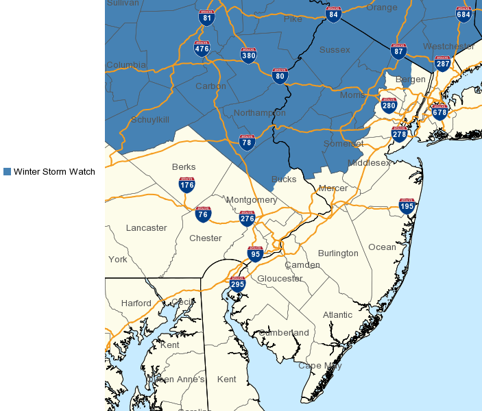 WSW 11.29.19 Winter Storm Watch