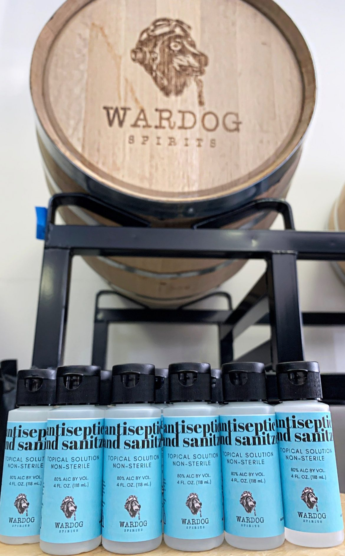 Wardog Spirits Hand Sanitizer