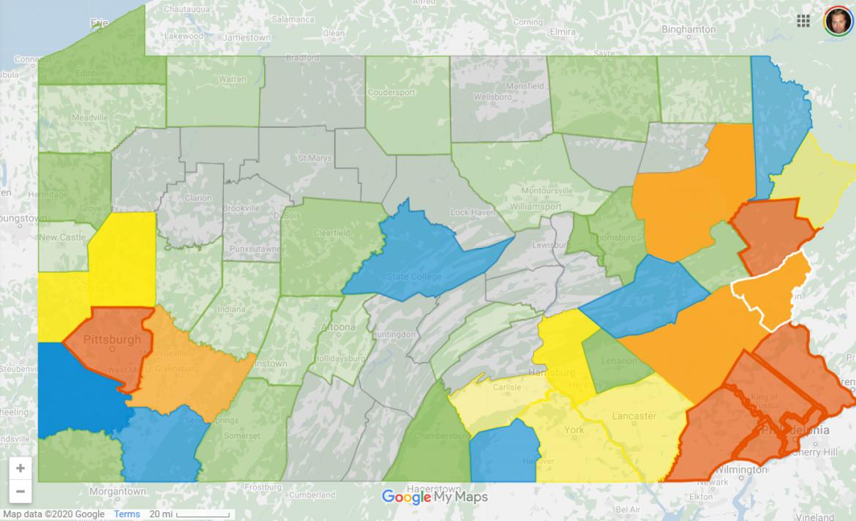 Coronavirus Pennsylvania March 26
