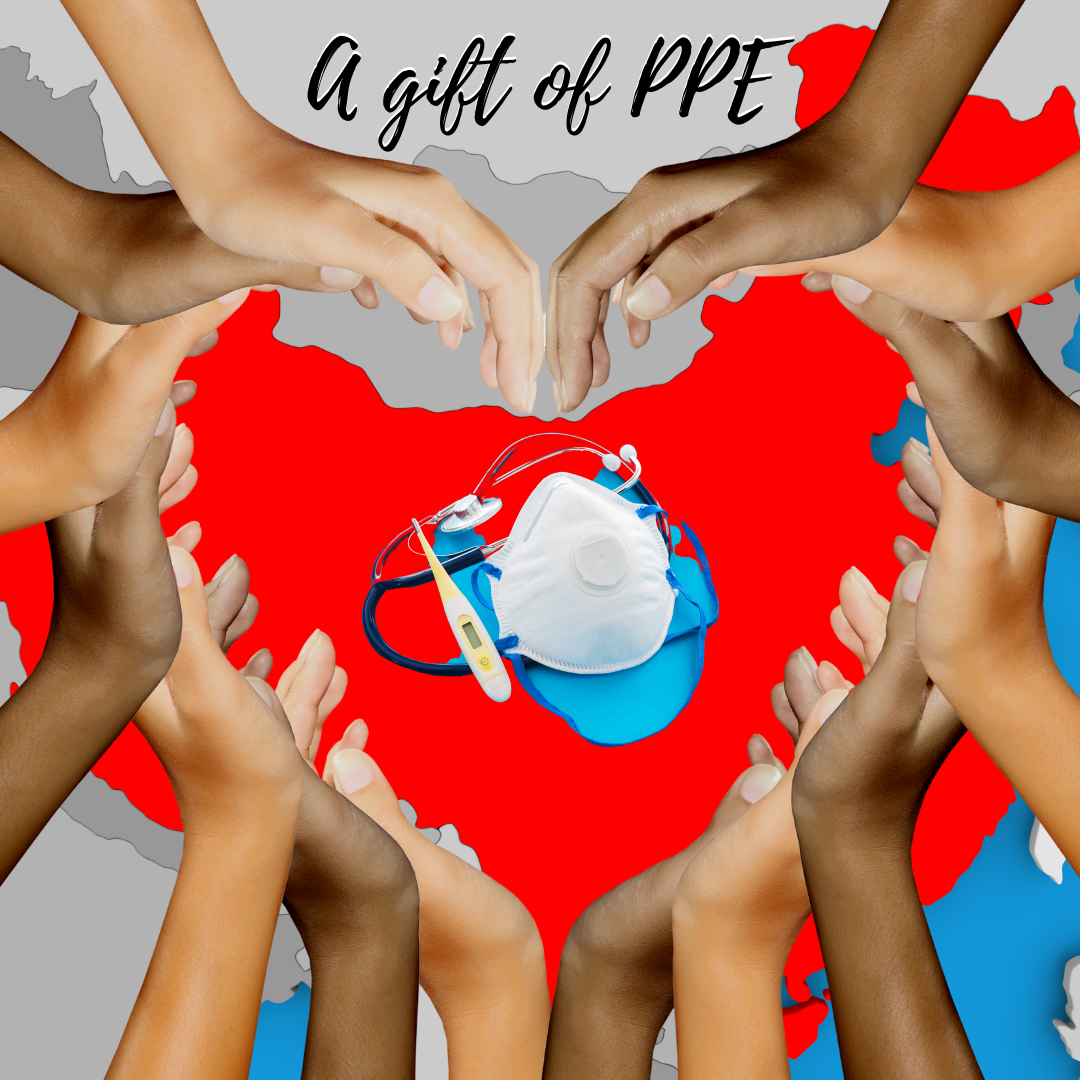 A gift of PPE