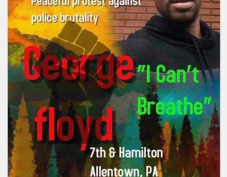 George Floyd Protest Rally Allentown