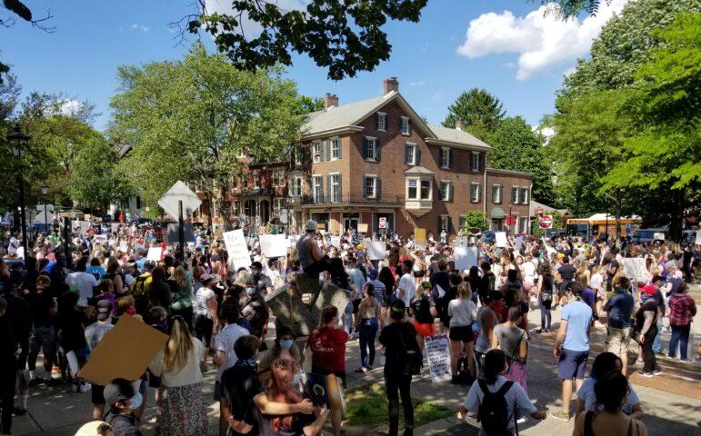 Protest George Floyd Racism Bethlehem