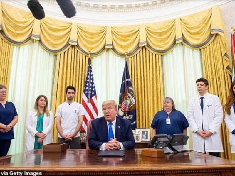 St. Luke's Nurse Honored White House