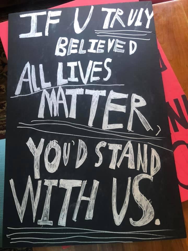 Hellertown Demonstration Protest Black Lives Matter