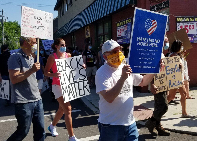 Protest Riegelsville Black Lives Matter