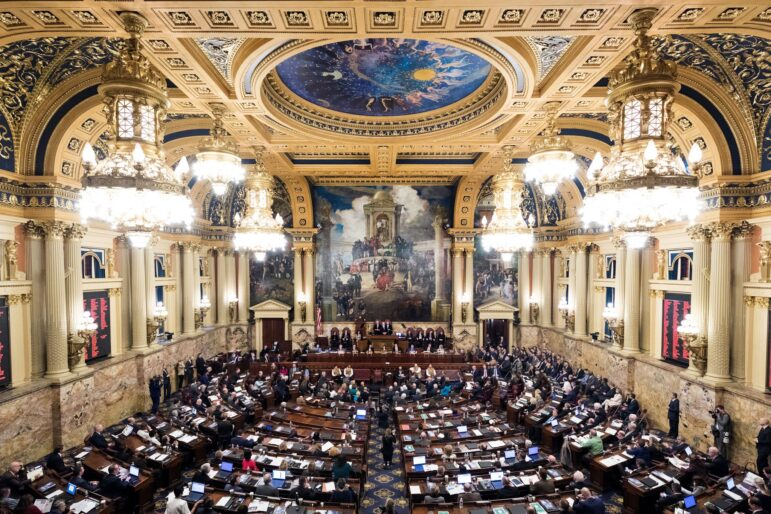 PA Lawmakers Tom Wolf War