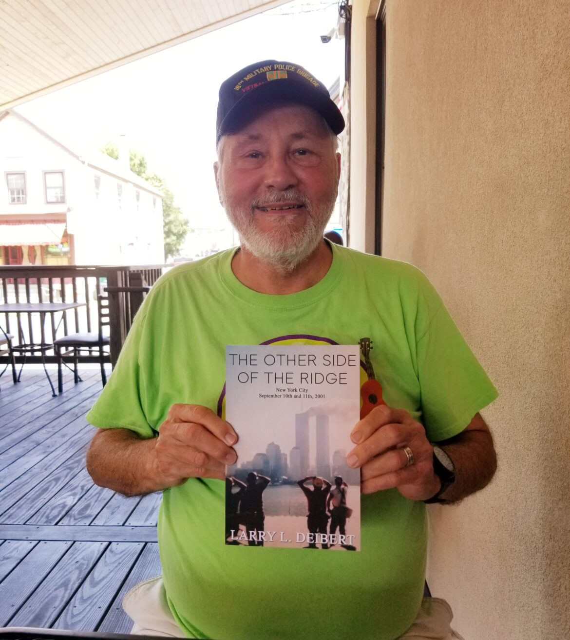 Author Larry Deibert Time Travel Trilogy Book