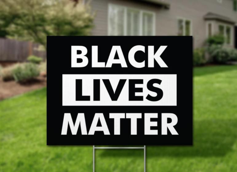 Black Lives Matter Biden sign