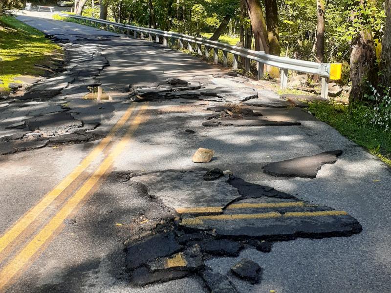 Damage Flooding Isaias Roads Closed