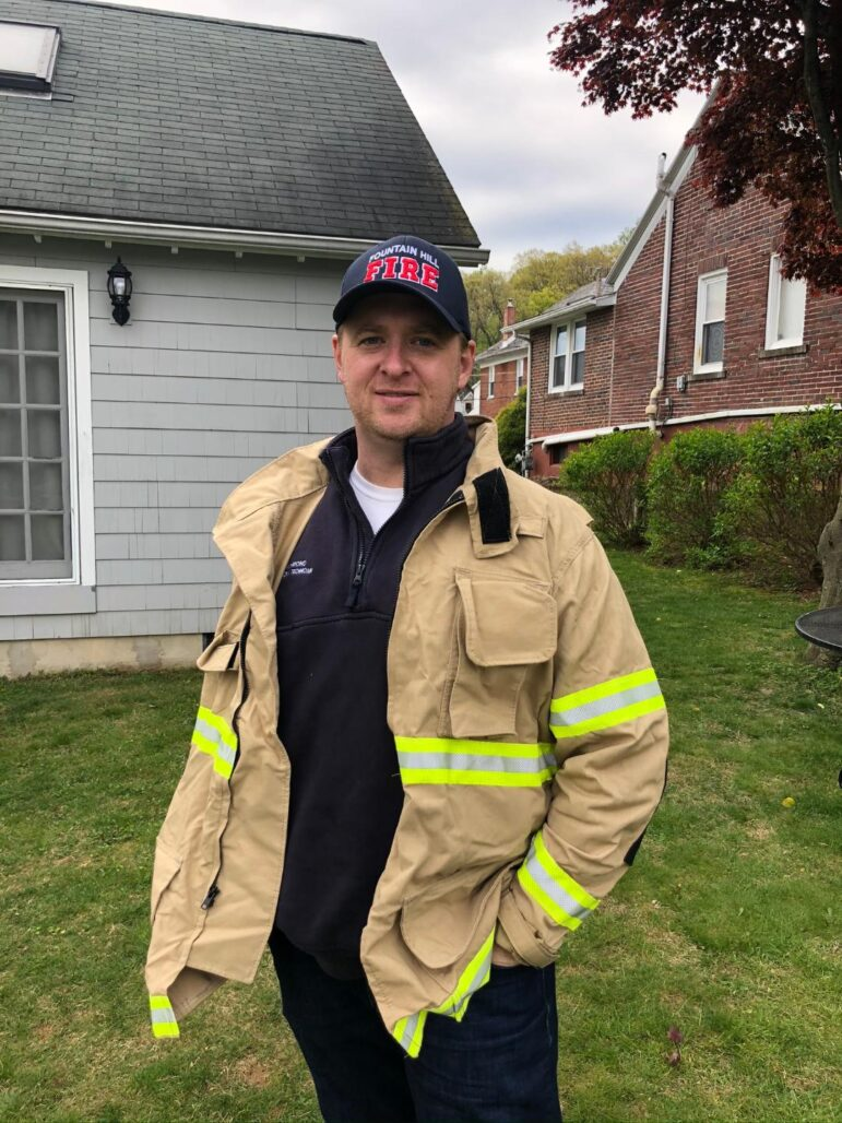 Derek Richmond Fire Chief Fountain Hill
