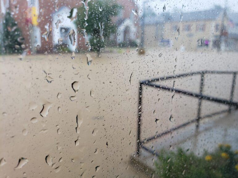 Flooding Hellertown Isaias