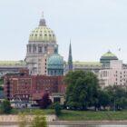 Coronavirus Capitol Complex Pennsylvania