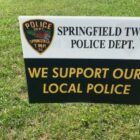 Springfield Police signs