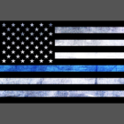 Thin Blue Line Trump Flags Signs