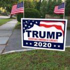 Trump 2020 sign 2