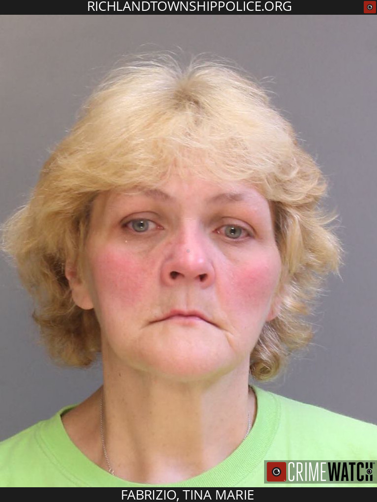 Theft Hellertown Woman Tina Fabrizio