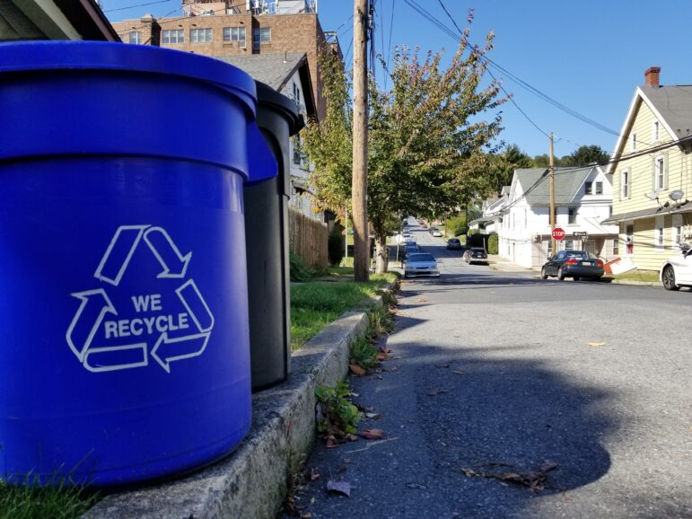 Fountain Hill Trash Recycling
