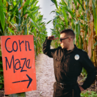 Corn Maze Theft Cops