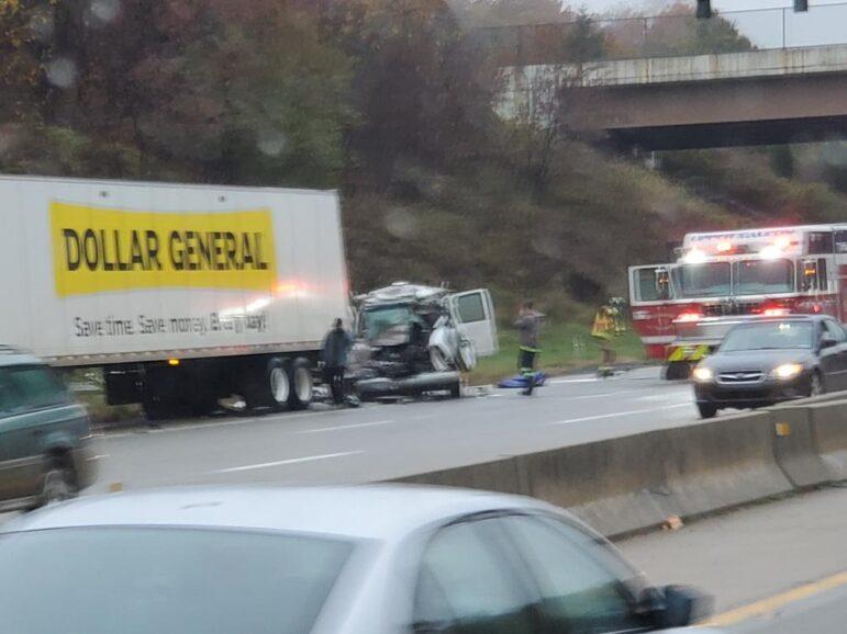 Wreck Upper Saucon I-78