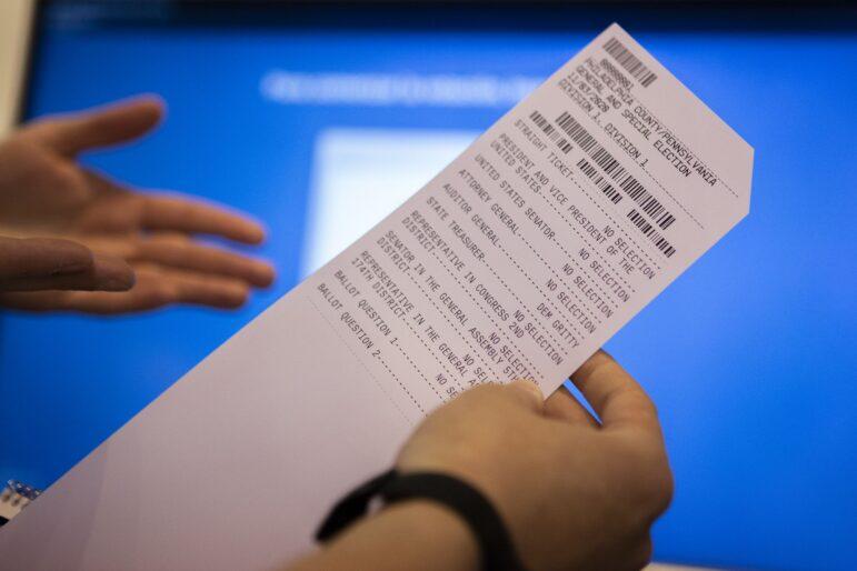 Northampton County Voting Machines