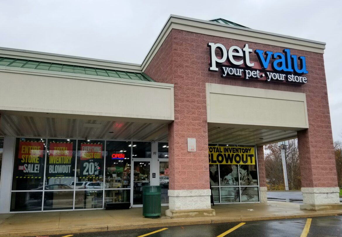 Pet Valu Out of Business Closing
