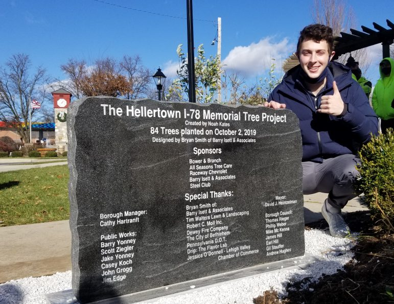 Noah Kates Hellertown Tree Project