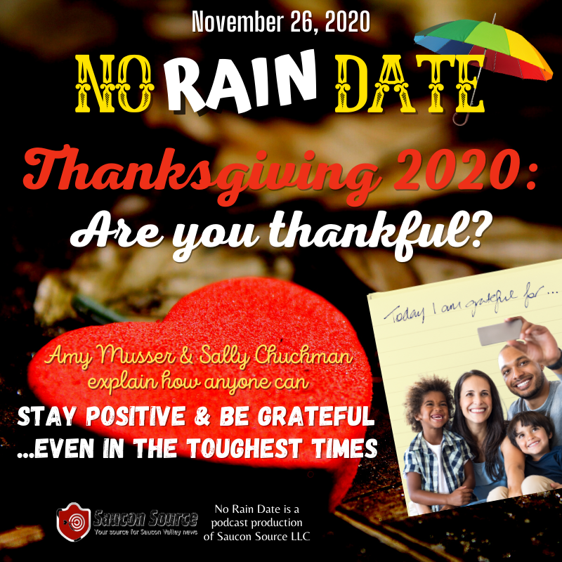 No Rain Date Gratitude Thanksgiving