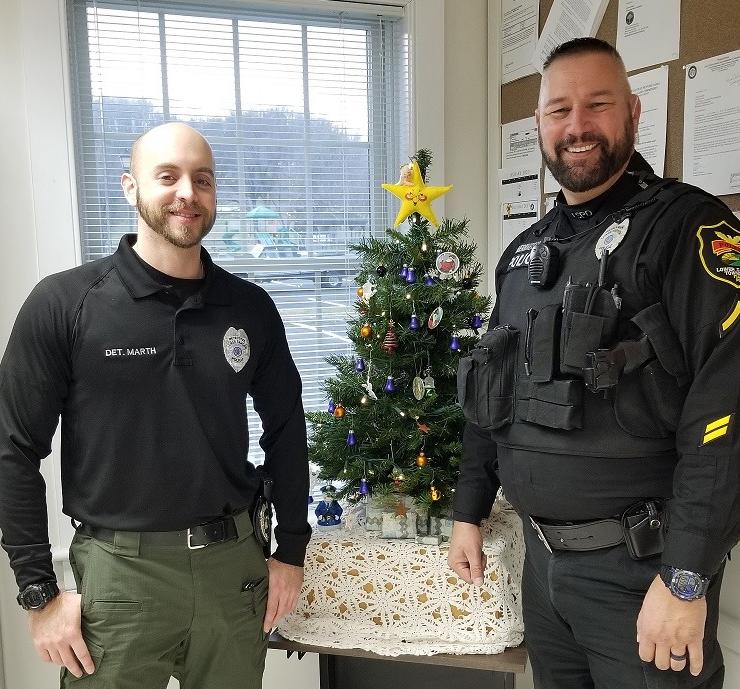No Shave November Lower Saucon Cops