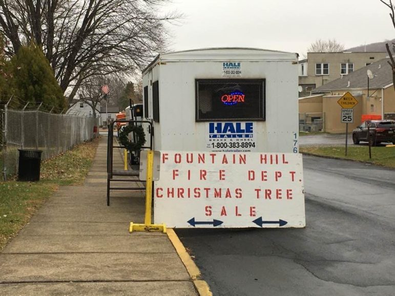 Fountain Hill Fire Department Tree Sale