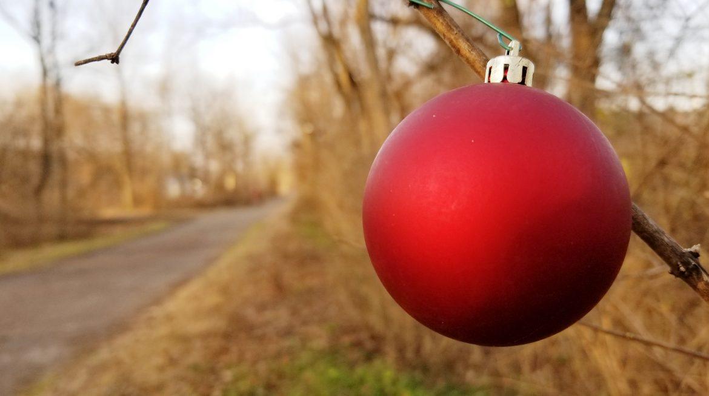 Rail Trail Christmas Ornaments