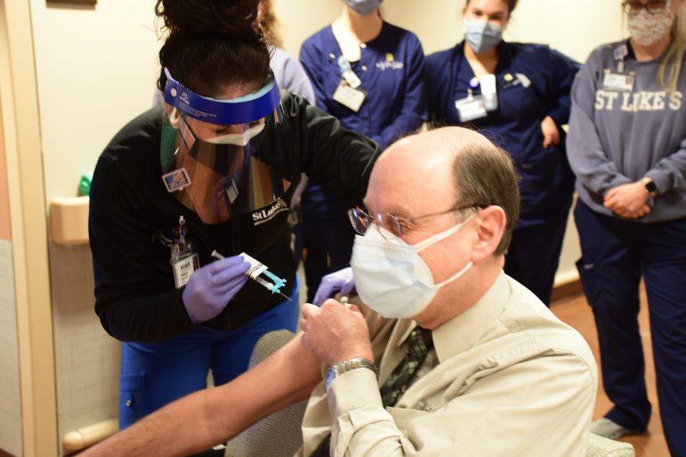 Vaccine Vaccinate Vaccination St. Luke's COVID