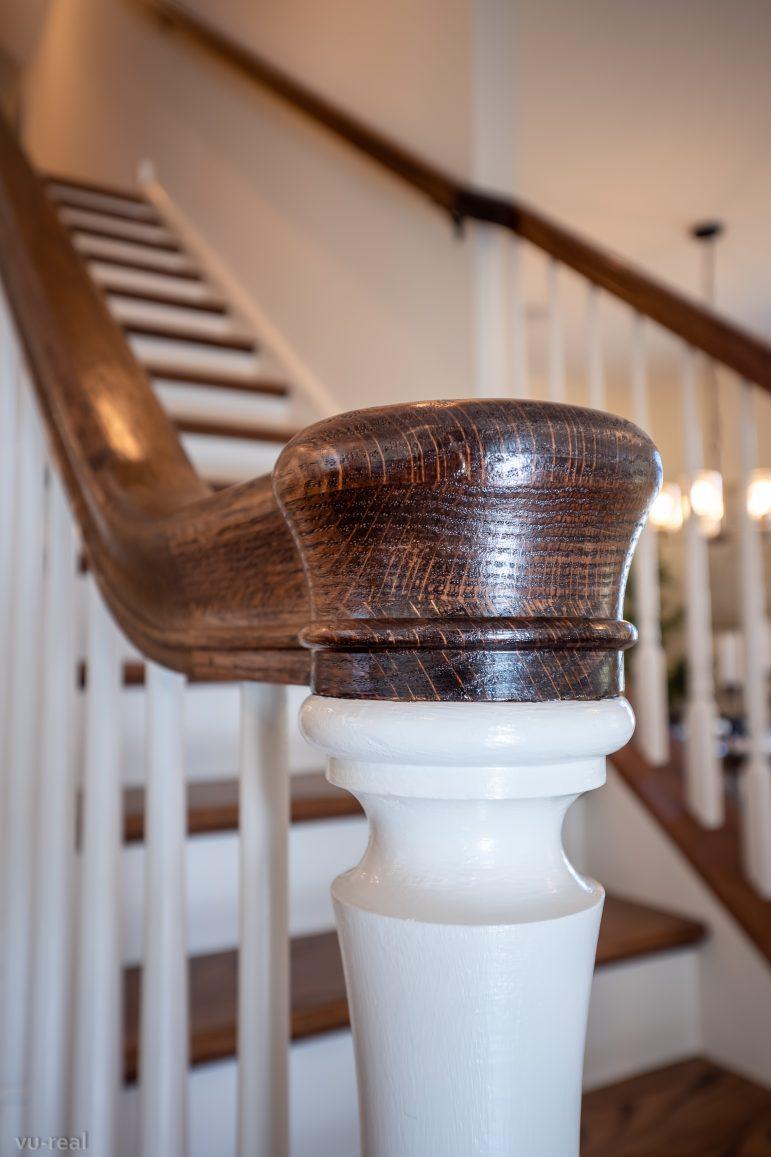 Old Saucon staircase