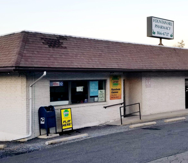 Lottery Ticket Fountain Hill Pharmacy