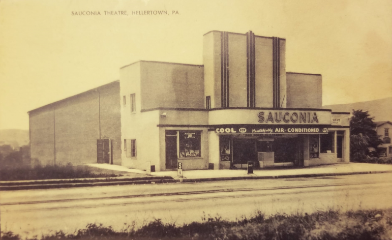 Sauconia Movie Theater Hellertown