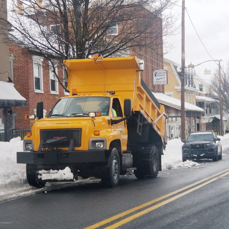 Roads Snow Removal Hellertown Snowstorm