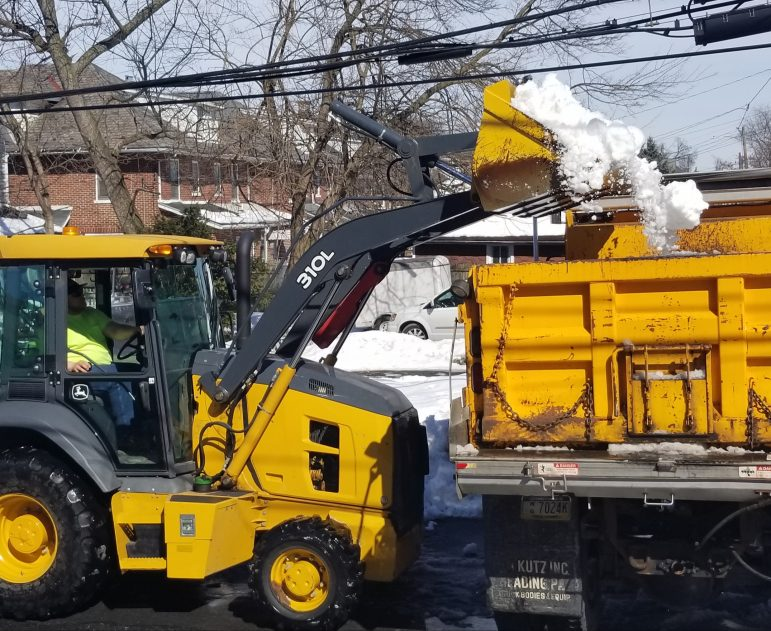 Parking Fountain Hill Snow Removal
