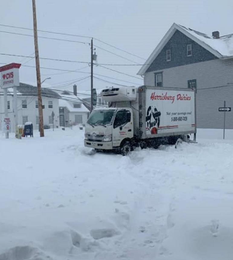 CVS Snowstorm