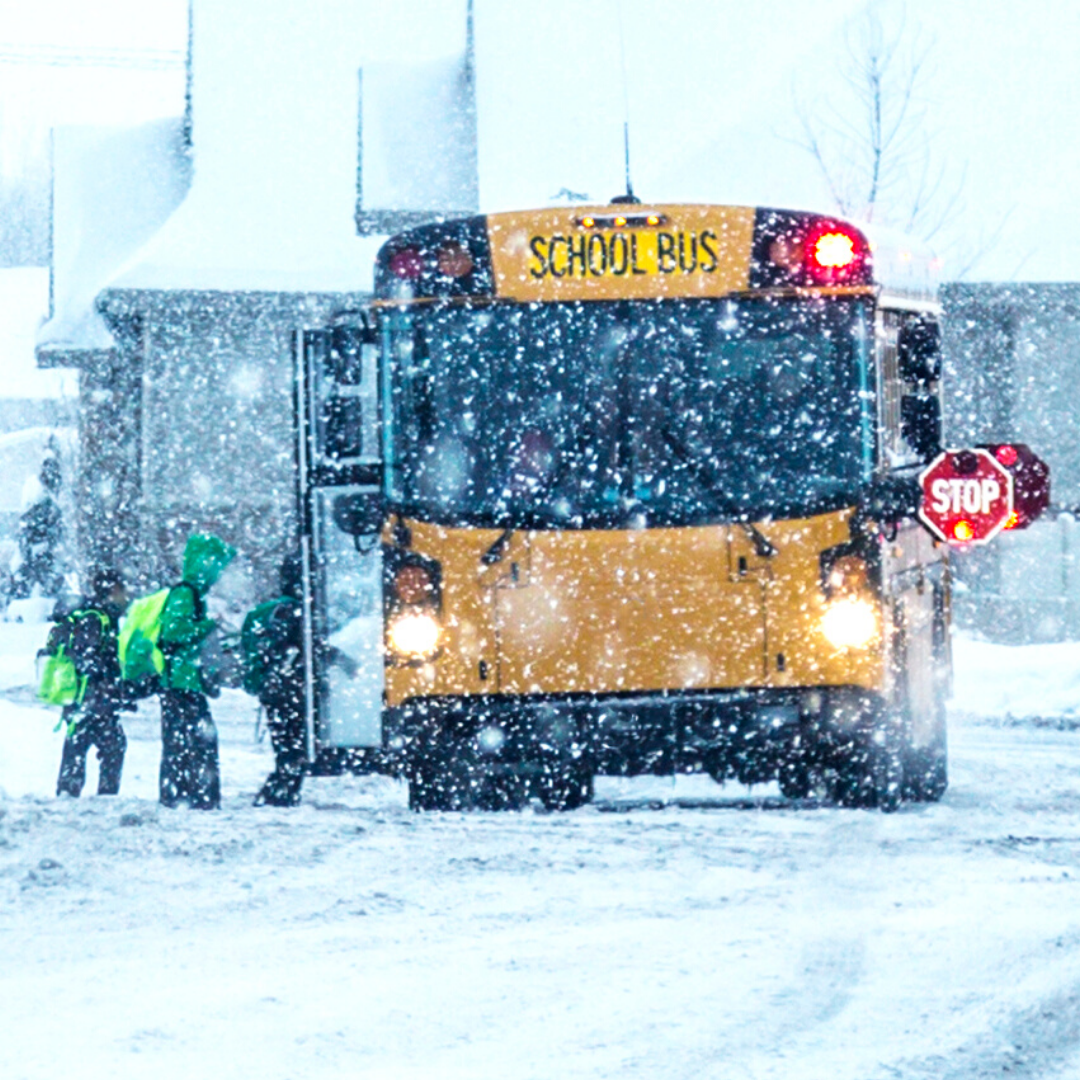 School Bus Snow Days