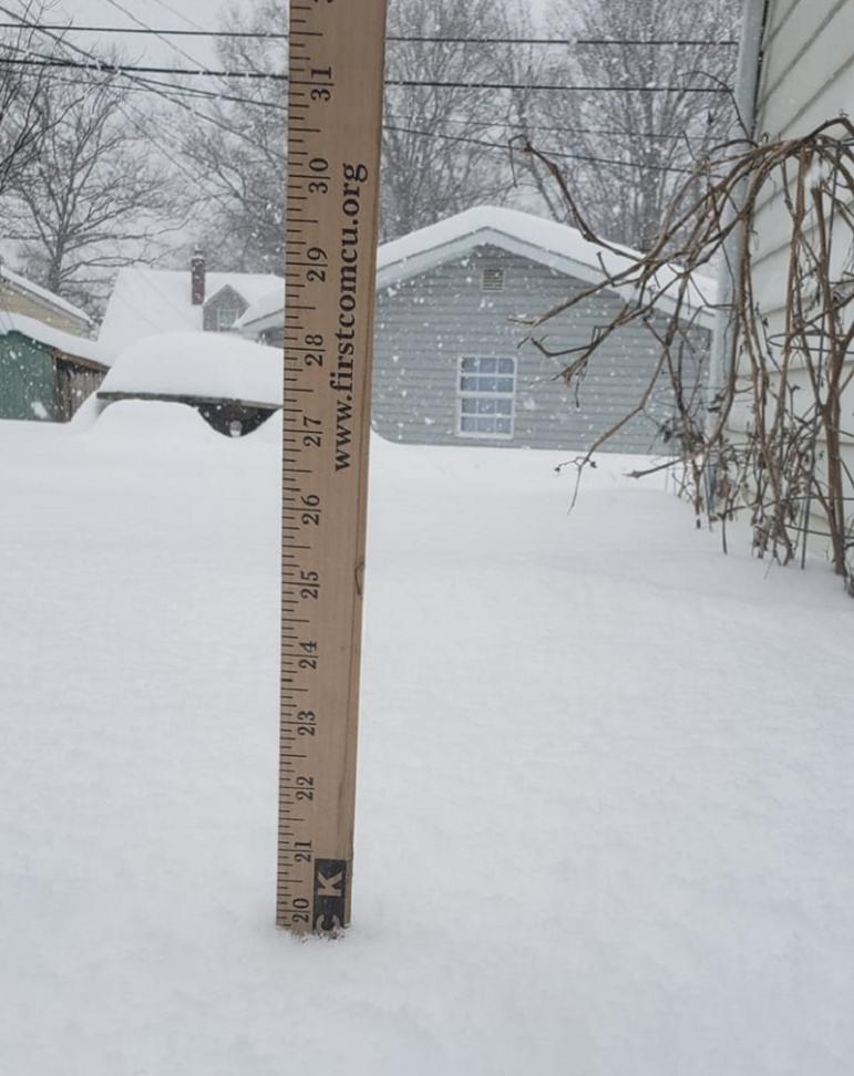 Snowstorm Ruler