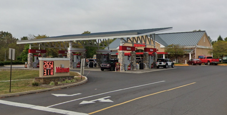 Wawa Coverup Accident Plumstead Township