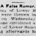 False Rumor News Hellertown