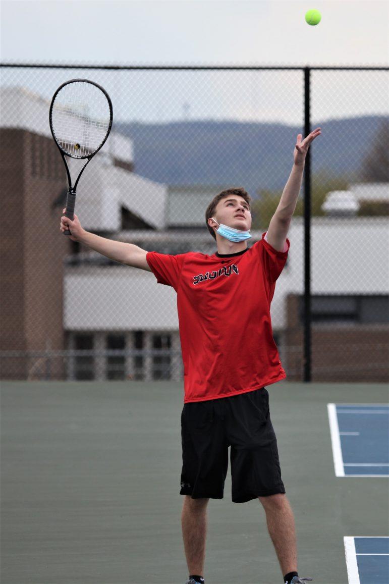 Joey Andres 2 Saucon Boys Tennis