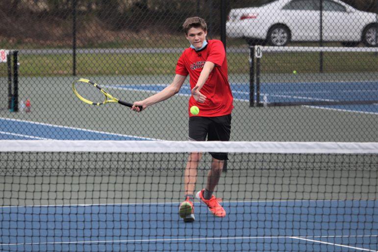 Matt Nagy Saucon Boys Tennis