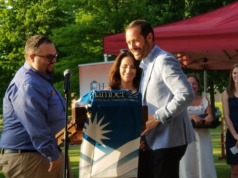 Chamber Award Honors Hors D'oeuvres Ricky Gower