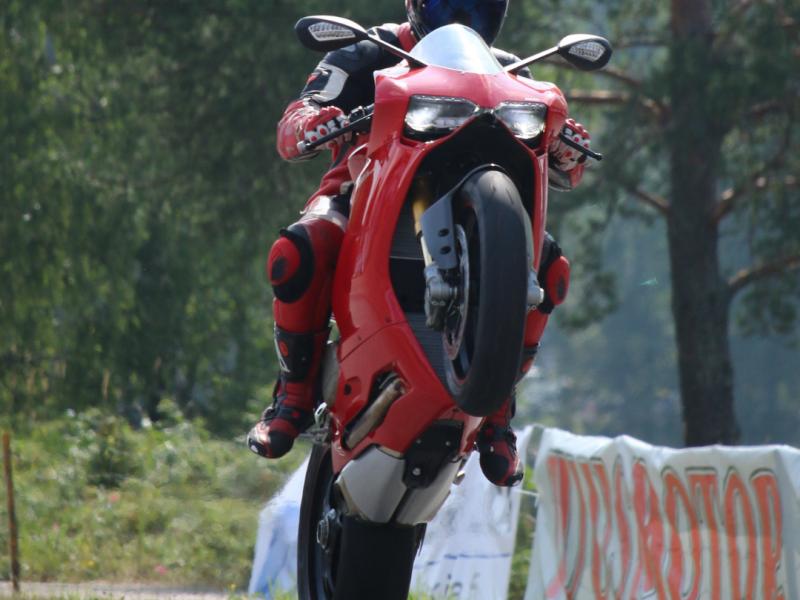 Wheelie Motorcycle