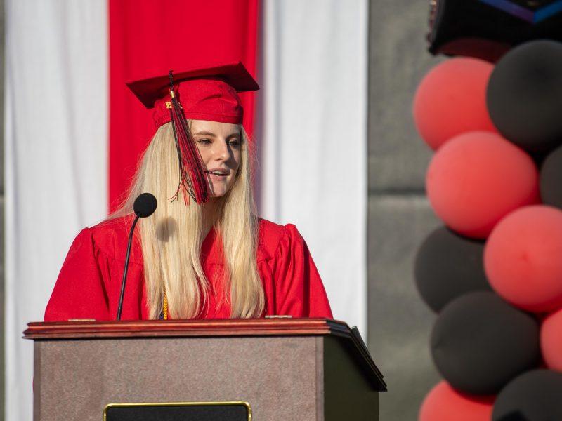 Appoline Neveu Lehigh Saucon Graduation