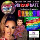 No Rain Date Stonewall LGBTQ History