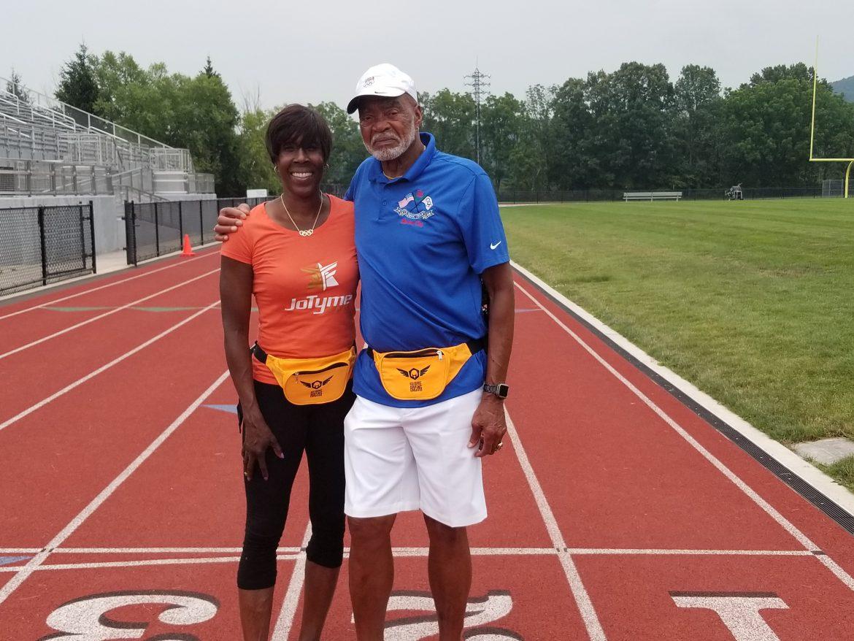 Norman Tate Joetta Track Camp Olympian