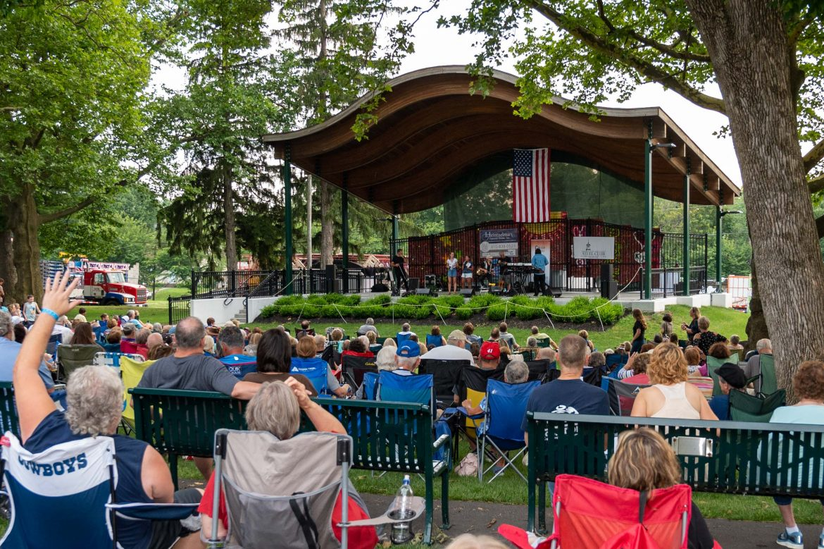 Music in the Park Hellertown