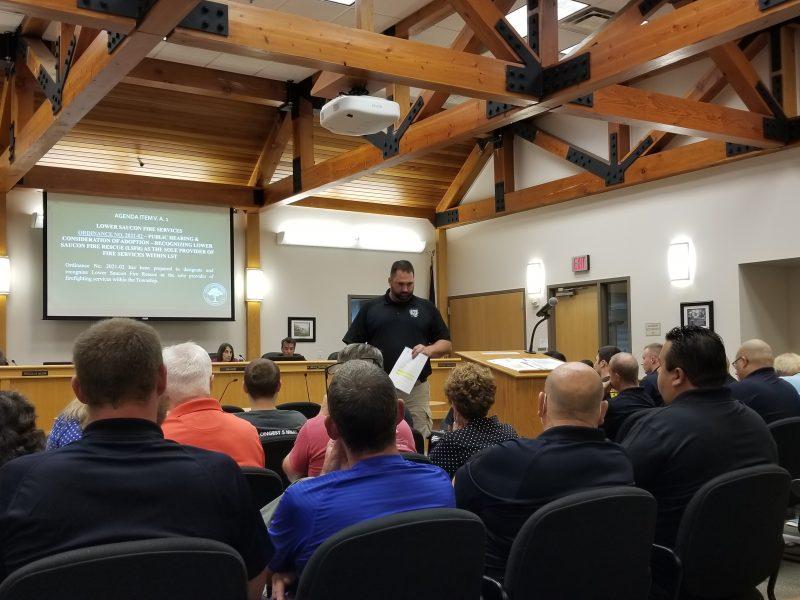 Lower Saucon Fire Rescue Steel City Council
